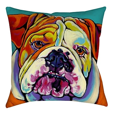 Manual Woodworkers & Weavers Maggie Printed Throw Pillow; 14'' H x 14'' W x 3'' D