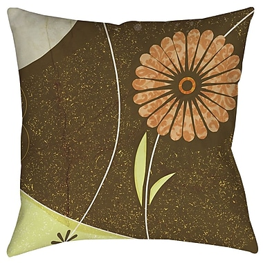 Manual Woodworkers & Weavers Graphic Garden Suri Printed Throw Pillow; 18'' H x 18'' W x 5'' D