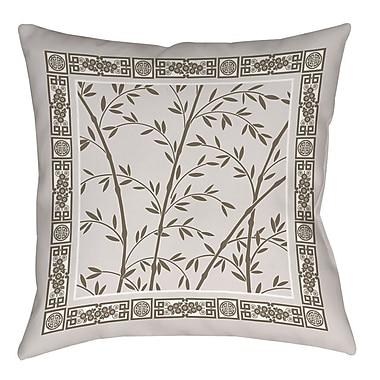 Manual Woodworkers & Weavers Oriental Treasure Printed Throw Pillow; 20'' H x 20'' W x 5'' D
