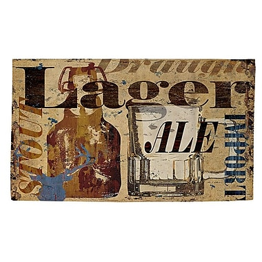 Manual Woodworkers & Weavers Old Lager Area Rug; 4' x 6'
