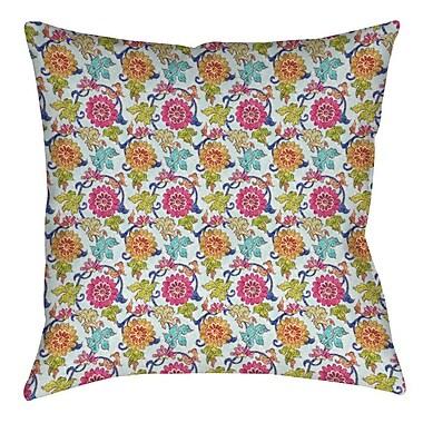Manual Woodworkers & Weavers Shangri La Leaves Indoor/Outdoor Throw Pillow; 16'' H x 16'' W x 4'' D