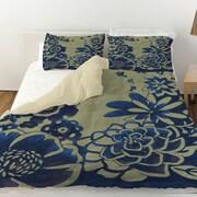 Manual Woodworkers & Weavers Kyoto Garden 3 Duvet Cover; Queen