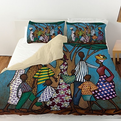 Manual Woodworkers & Weavers Family Tree Duvet Cover; King