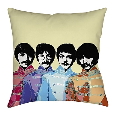 Manual Woodworkers & Weavers Sixties Legacy Printed Throw Pillow; 18'' H x 18'' W x 5'' D