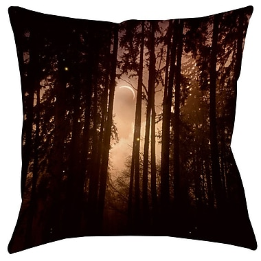 Manual Woodworkers & Weavers Forest Skyline Printed Throw Pillow; 14'' H x 14'' W x 3'' D