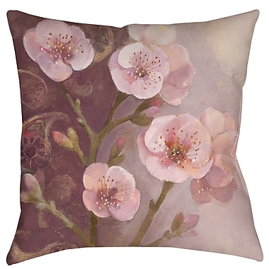 Manual Woodworkers & Weavers Gypsy Blossom 1 Indoor/Outdoor Throw Pillow; 16'' H x 16'' W x 4'' D