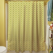 Manual Woodworkers & Weavers Funhouse Shower Curtain; Tan