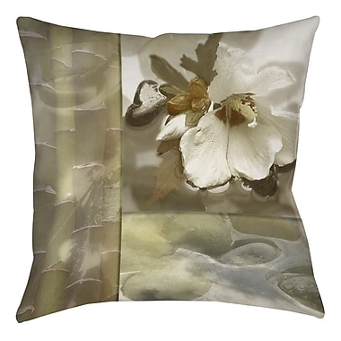 Manual Woodworkers & Weavers Natural Elements 2 Printed Throw Pillow; 14'' H x 14'' W x 3'' D