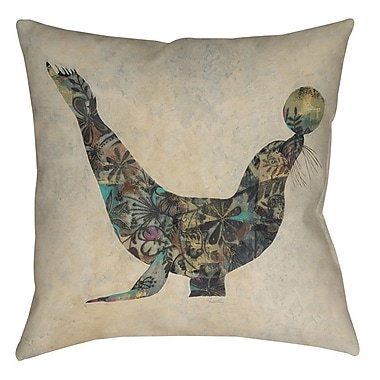 Manual Woodworkers & Weavers Having a Ball 1 Printed Throw Pillow; 26'' H x 26'' W x 7'' D