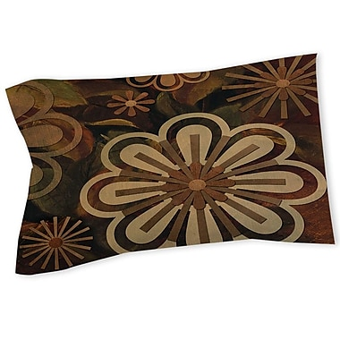 Manual Woodworkers & Weavers Floral Abstract II Sham; Queen/King