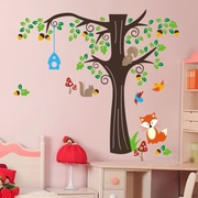 RetailSource Tree Full of Life and Friends Wall Decal; 20'' H x 28'' W