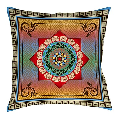 Manual Woodworkers & Weavers Mexican Summer Printed Throw Pillow; 18'' H x 18'' W x 5'' D