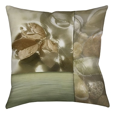Manual Woodworkers & Weavers Natural Elements 1 Printed Throw Pillow; 18'' H x 18'' W x 5'' D