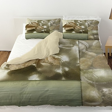 Manual Woodworkers & Weavers Natural Elements 1 Duvet Cover; King