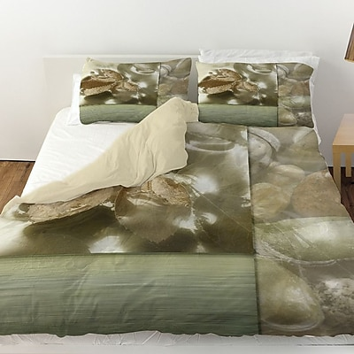 Manual Woodworkers & Weavers Natural Elements 1 Duvet Cover; Twin