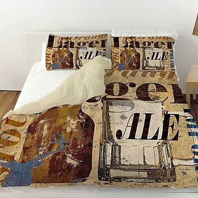 Manual Woodworkers & Weavers Old Lager Duvet Cover; Twin