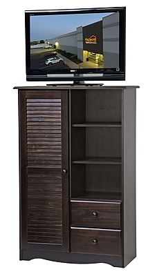 PalaceImports 1 Door Accent Cabinet; Java
