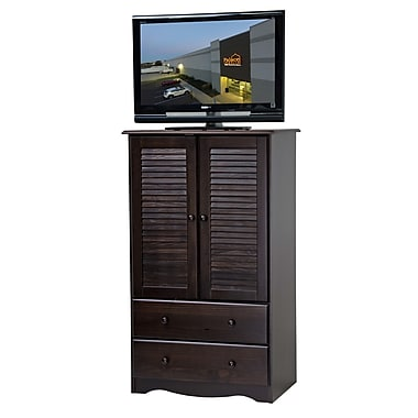 PalaceImports Petite TV-Armoire; Java