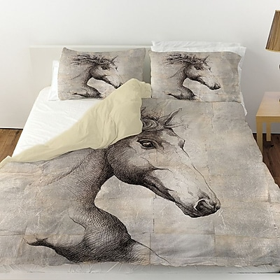 Manual Woodworkers & Weavers Run w/ the Wind Duvet Cover; Twin