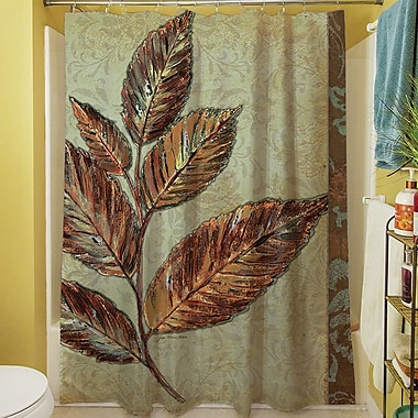 Manual Woodworkers & Weavers Golden Leaf I Shower Curtain