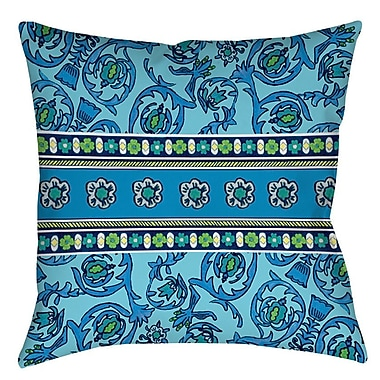 Manual Woodworkers & Weavers New Beginnings Indoor/Outdoor Throw Pillow; 16'' H x 16'' W x 4'' D