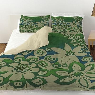 Manual Woodworkers & Weavers Kyoto Garden 2 Duvet Cover; Queen