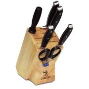 JA Henkels International Forged Premio 7 Piece Knife Block Set