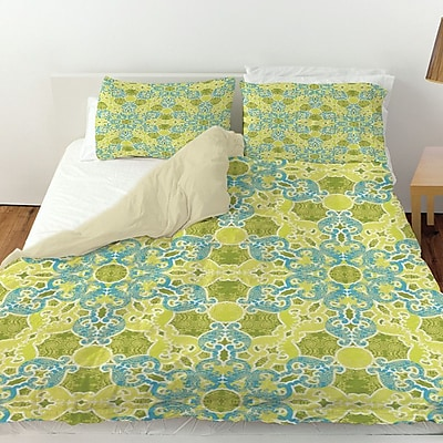 Manual Woodworkers & Weavers Funhouse 47 Duvet Cover; King