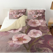 Manual Woodworkers & Weavers Gypsy Blossom 2 Duvet Cover; Queen