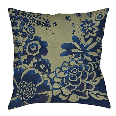 Manual Woodworkers & Weavers Kyoto Garden 3 Indoor/Outdoor Throw Pillow; 20'' H x 20'' W x 5'' D