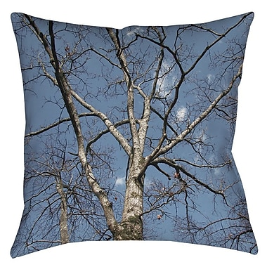 Manual Woodworkers & Weavers Reach for the Sky Printed Throw Pillow; 18'' H x 18'' W x 5'' D