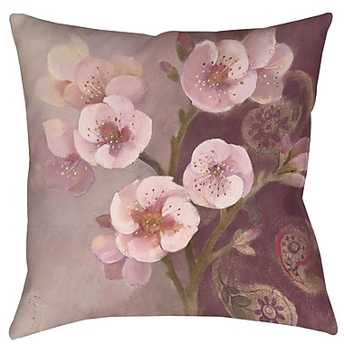Manual Woodworkers & Weavers Gypsy Blossom II Printed Throw Pillow; 20'' H x 20'' W x 5'' D