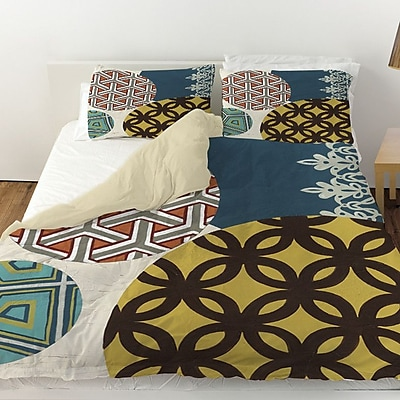 Manual Woodworkers & Weavers Paper Lanterns 1 Duvet Cover; Twin