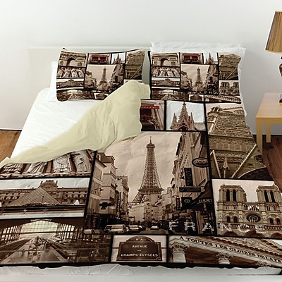 Manual Woodworkers & Weavers France Duvet Cover; King