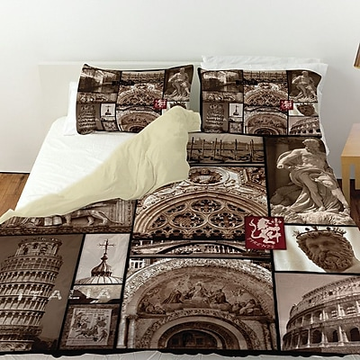 Manual Woodworkers & Weavers Italy Duvet Cover; Queen