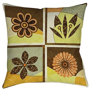 Manual Woodworkers & Weavers Graphic Garden Sydney Printed Throw Pillow; 14'' H x 14'' W x 3'' D