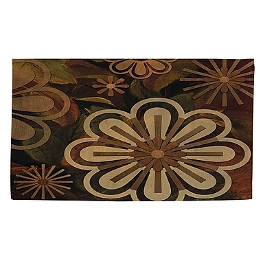Manual Woodworkers & Weavers Floral Abstract 2 Area Rug; 4' x 6'