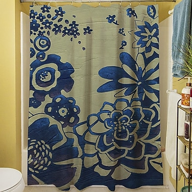 Manual Woodworkers & Weavers Kyoto Garden III Shower Curtain