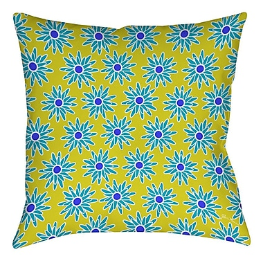 Manual Woodworkers & Weavers La Roque Summer Starburst Printed Throw Pillow; 20'' H x 20'' W x 5'' D