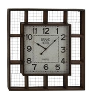 ABCHomeCollection Industrial Grand Hotel Wall Clock