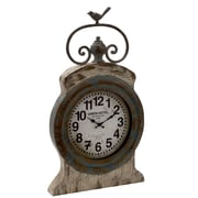ABCHomeCollection ''Union Hotel'' Table Clock