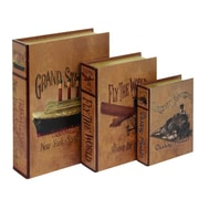 ABCHomeCollection 3 Piece Book Box Set