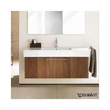 Duravit Vero 37'' Single Bathroom Vanity; American Walnut