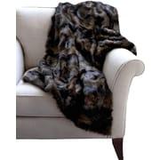 WovenWorkz Mink Faux Fur Throw