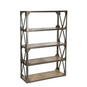 CDI International Industrial 74'' Etagere Bookcase