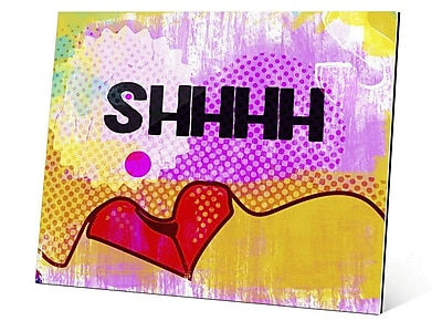 Click Wall Art Hushed Breath Graphic Art; 20'' H x 24'' W x 1.5'' D