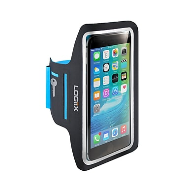 LOGiiX – Brassard Flexband LGX-12048 pour téléphones intelligents de jusqu'à 5 po, noir