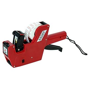 Motex – Pistolet étiqueteur 5500 à 6 chiffres, rouge (38-1109-6)