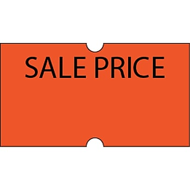 Motex – Étiquettes 5500 Sale Price, 7/8 x 7/16 po, 10/rouleaux (38-1252-SP)