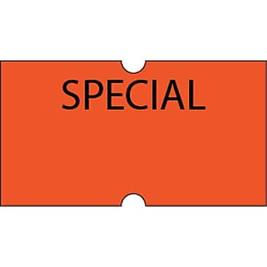 Motex – Étiquettes 5500 Special, 7/8 x 7/16 po, 10/rouleaux (38-1252-SPECIAL)